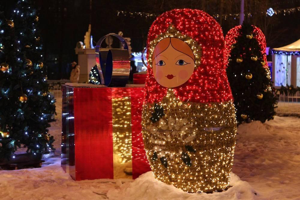weihnachten russland 2018