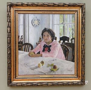 Das Mädchen mit den Pfirsichen (1887)