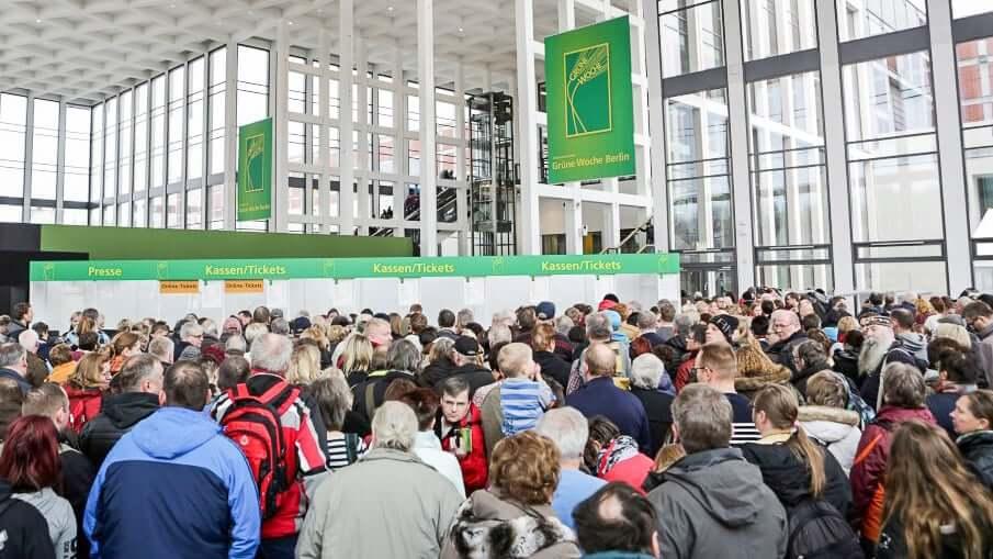 Russland nicht an der Grünen Woche in Berlin