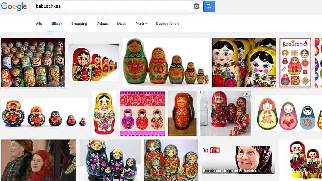 Babuschka Google
