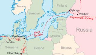 Karte Nord Stream 1