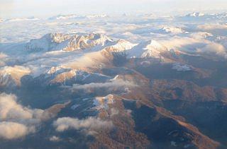 Berge bei Kolasin.