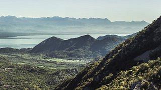 Die Berge Montenegros