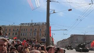 Parade am 9. Mai 2015