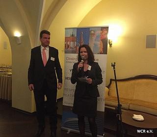 Matthias Schepp (AHK Russland) und Karin von Bismarck (WCR) | Foto: WCR