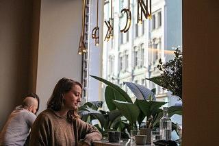Café Iskra in Moskau