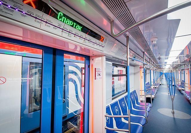 LED-Lichter in der Moskau Metro