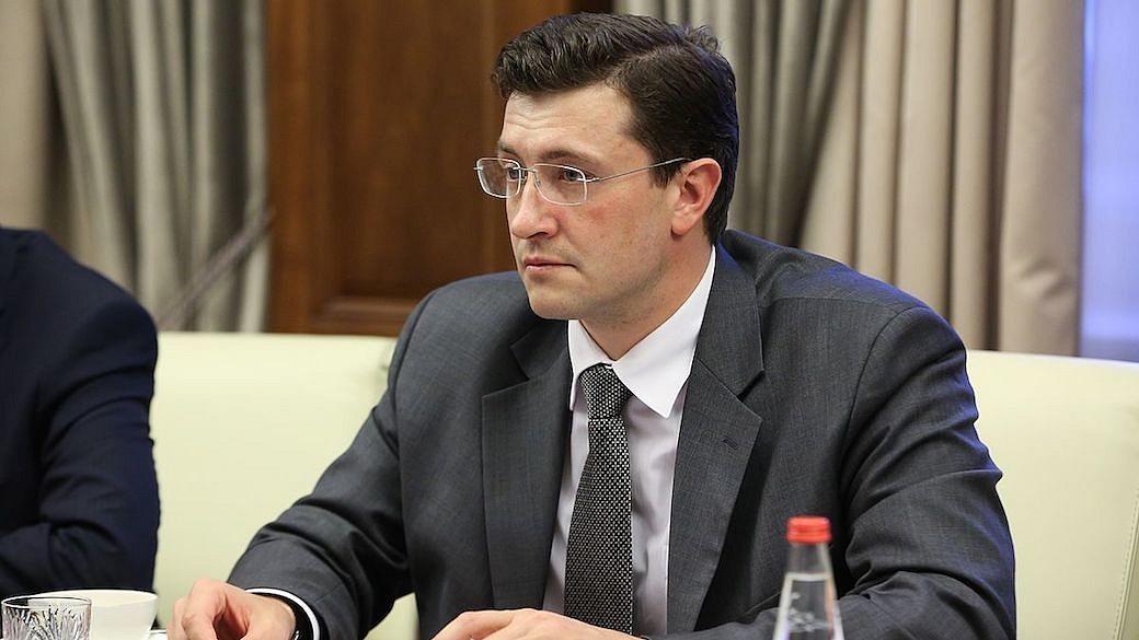Gleb Nikitin, Gouverneur der Oblast Nischni Nowgorod