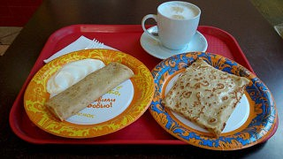 Frühstück bei Teremok