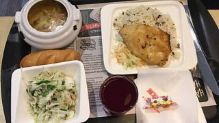 Business-Lunch im Café Mu-Mu