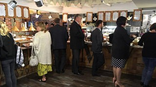 Buffet bei Café Mu-Mu