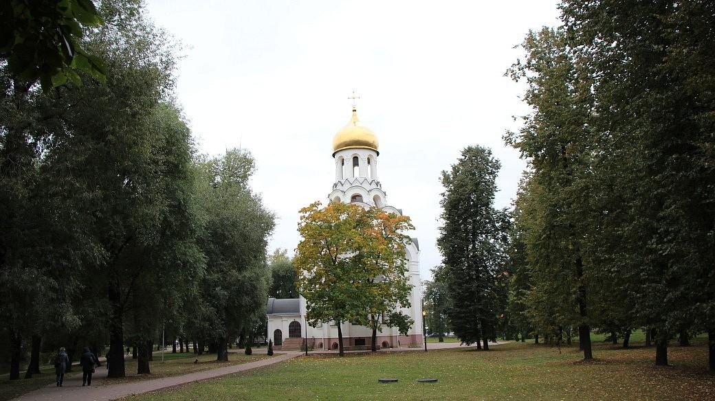 Orthodoxe Kirche in Kotelniki.
