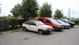 Altes Auto in Kotelniki.