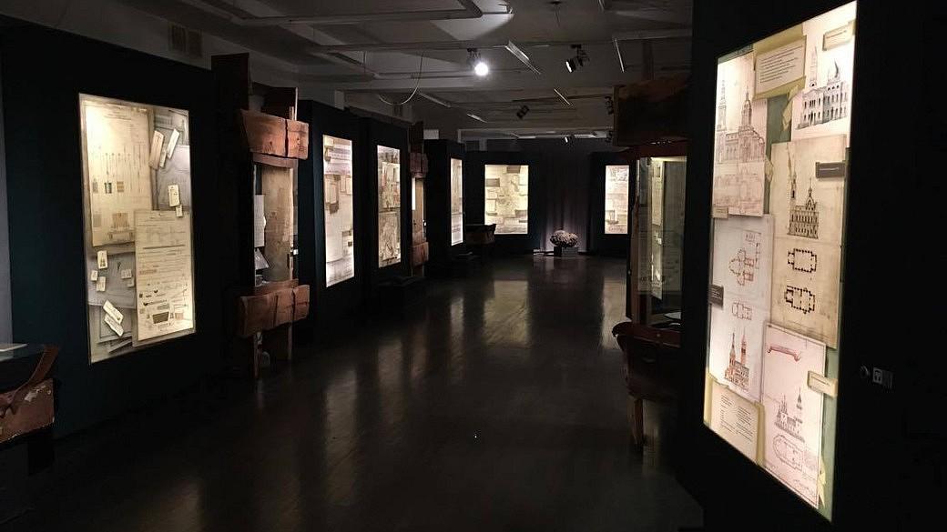 Blick in das historische Museum.