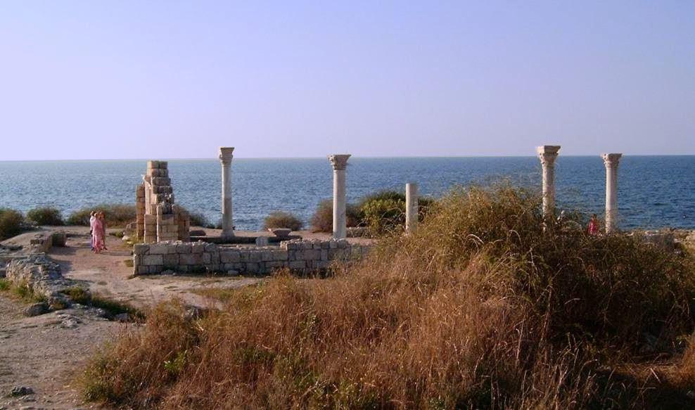 Ruinen von Chersonesos in Sewastopol
